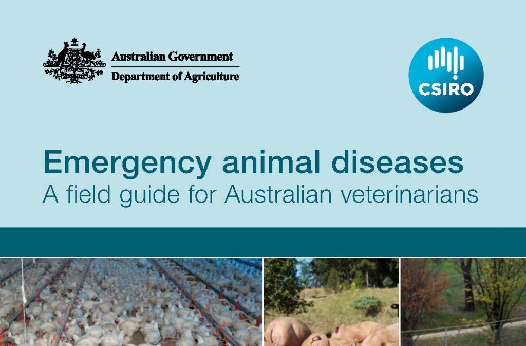 Emergency animal diseases field guide for veterinarians